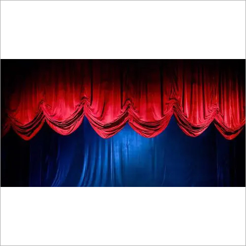 Drape stage curtain