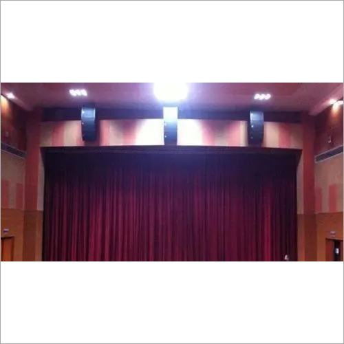 Front Stage curtains