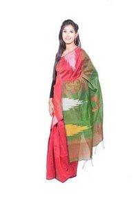 Cotton Silk Borderwali Saree