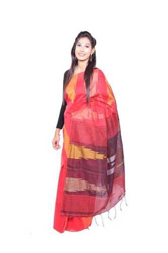 Jamdani Cotton Silk Sarees