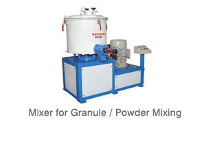 Mixer for Granule Powder Mixing