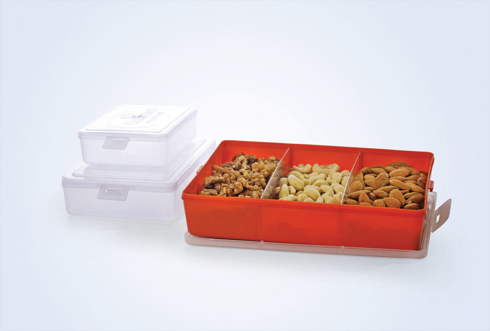Square Sweet Plastic Boxes