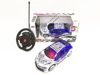 BMW 4CH r/c racing car w/ 3D light 1:18