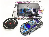 Audi 4CH r/c racing car w/ 3D light 1:18