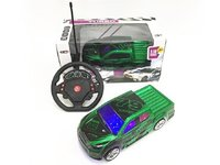 Pickup 4CH r/c racing car w/ 3D light 1:18