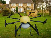 Octocopters Agricultural Drones