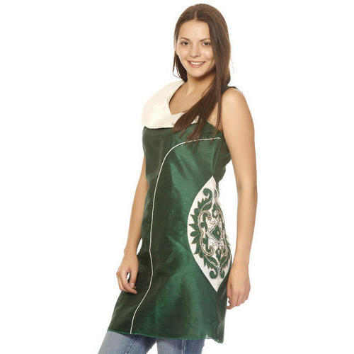 Green Kurti with Embroidery