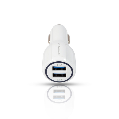2 USB 2.4 Amp Car Charger