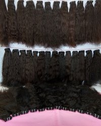 Unprocessed Black Natural  Indian Human Hair