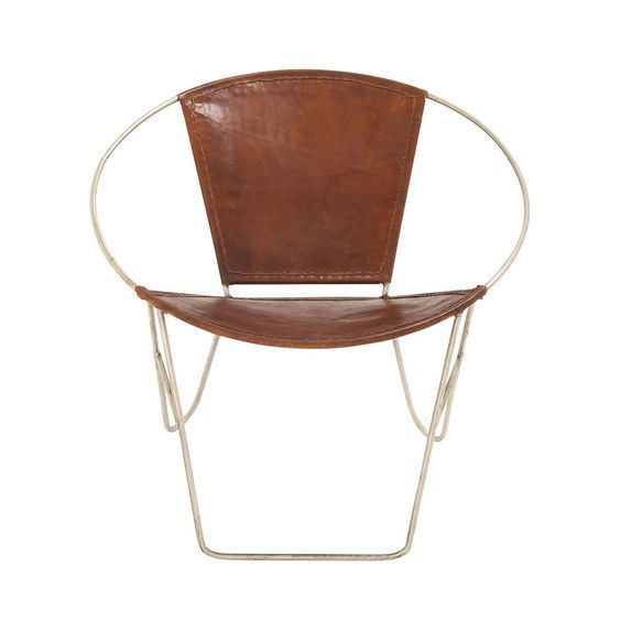 Dining Chair with Leather Seat