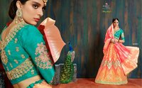 Wedding Banarasi Silk Designs Lehenga