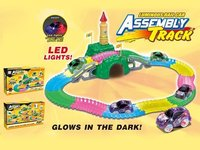 glow in the dark assembly soft track 146pcs