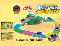 glow in the dark assembly soft track 143pcs
