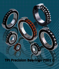 TPI Precision Bearings 7001 C