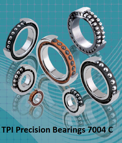 TPI Precision Bearings 7004 C