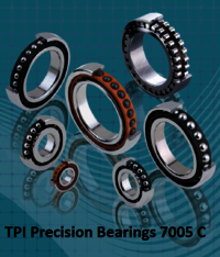 TPI Precision Bearings 7005 C