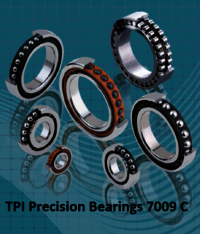 TPI Precision Bearings 7009 C
