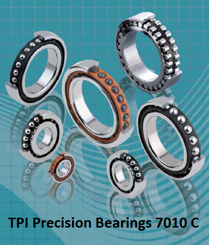 TPI Precision Bearings 7010 C