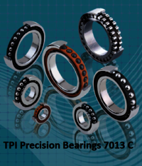 TPI Precision Bearings 7013 C