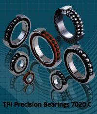 TPI Precision Bearings 7020 C