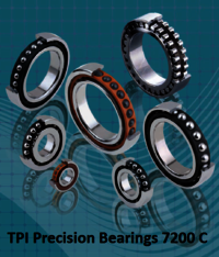 TPI Precision Bearings 7200 C