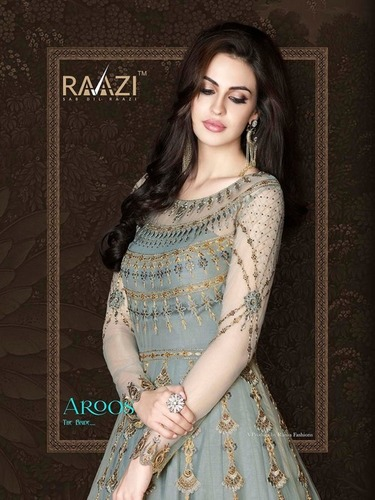 STYLISH ANARKALI SALWAR SUITS ( RAAZI )