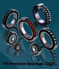 TPI Precision Bearings 7202 C
