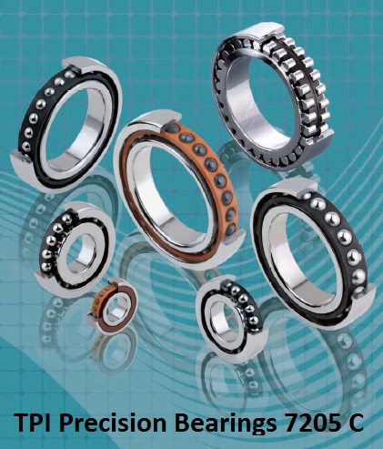 TPI Precision Bearings 7205 C