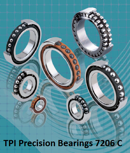 TPI Precision Bearings 7206 C