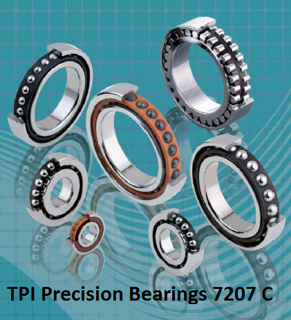TPI Precision Bearings 7207 C