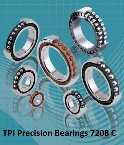TPI Precision Bearings 7208 C