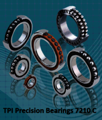 TPI Precision Bearings 7210 C