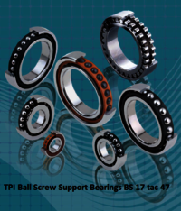 TPI Ball Screw Support Bearings BS 17 tac 47