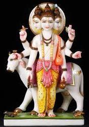 Lord Dattatreya Marble Moorti
