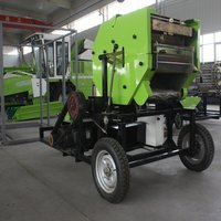 China corn silage baler machine combined baler wrapper