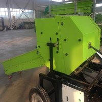 Silage baler and wrapper machine hot sale in India market