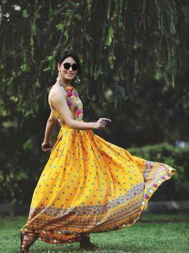 Traditional Printed One Piece Dress