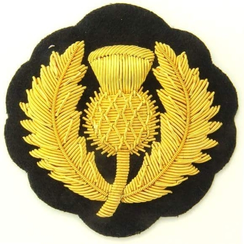 Hand embroidery Zari Badges