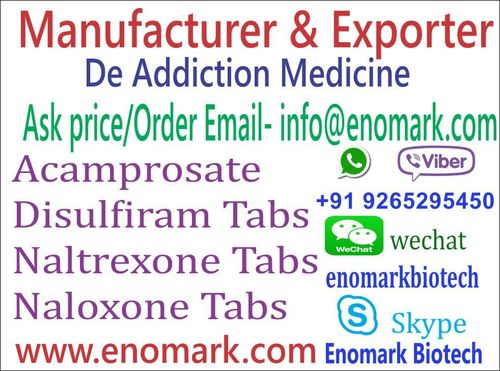 De-Addiction Medicine