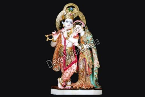 Marble Radha Krishan Idol
