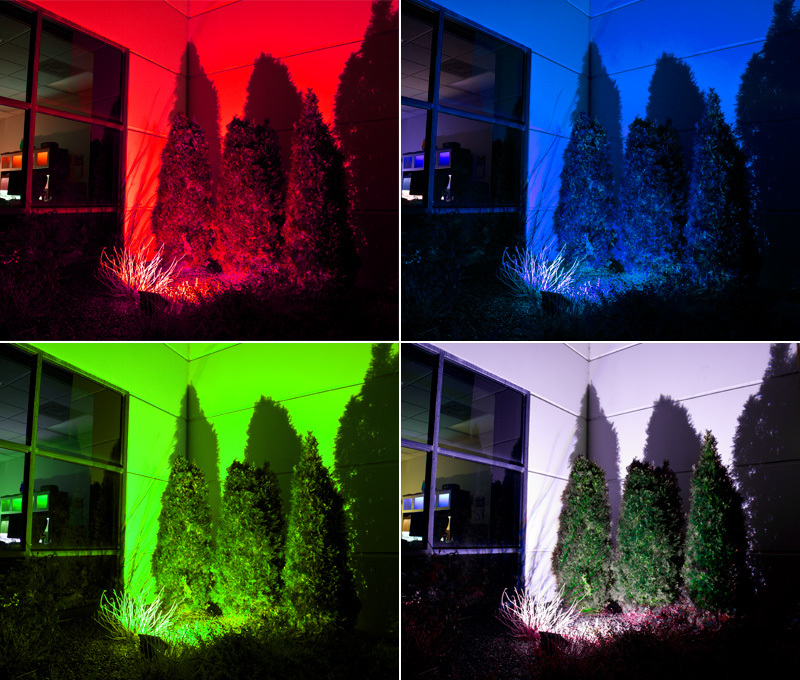 10W Color Flood Light