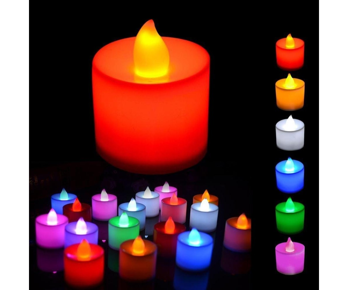 Color Changing Mini Candle