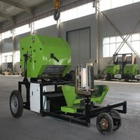 Maize silage baler small round silabe bale making machine
