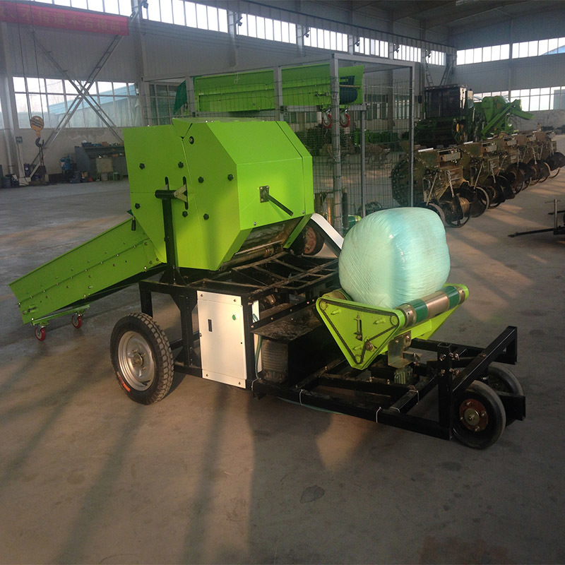 Corn silage baler wrapper professional bale maker