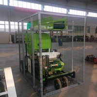 Semi automatic baler wrapper farmers real assistant