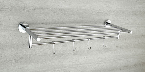 Chrome Plated Towel Rack