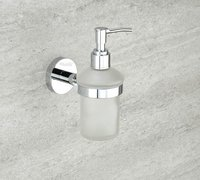 Chrome Plated Liquid Soap Dispenser