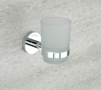 Chrome Plated Tumbler Holder