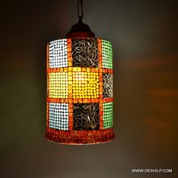 BEAUTIFUL GLASS MOSAIC WALL LAMP