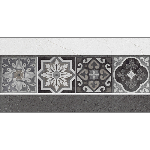 Inbloom Gris Decor Wall Tiles